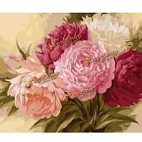 Поделки номера комплект живописи цветок картины маслом бескаркасных картины цифровой рисунок декора стен подарок 40x50cm
