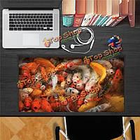 Придеритесь золотая рыбка этикетка Пага 3-и стенные переводные картинки этикетки стола домашний подарок обстановки рабочего стола