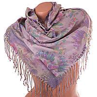 Женский двухсторонний платок из пашмины 91 на 86,5 см OZSOY AKSESUAR (ОЗСОЙ АКСЕСУАР) SAT12557