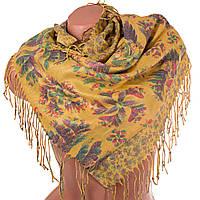 Женский двухсторонний платок из пашмины 91 на 87 см OZSOY AKSESUAR (ОЗСОЙ АКСЕСУАР) SAT12549-1