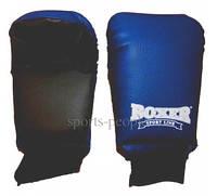 Перчатки/накладки для карате Boxer, кожа, размер L