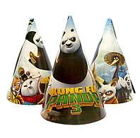 """Колпачки бумажные """"Панда Кунг-фу 3"""".  Размер: 16см."""