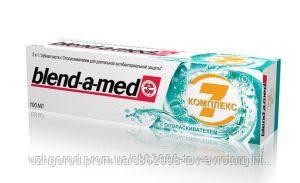 Blend a med Зубная паста Complete7+Mouthwash extreme mint 100ml