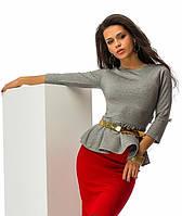 Платье баска 3 цвета