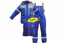 Зимние костюмы на синтапоне,зимние костюмы на синтапоне мужские,костюм рабочий зимний газовик,спецодежда киев,