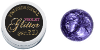3 D GEL GLITTER NAILS MOLEKULA DELUXE LINE 5 ML VIOLET