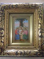 """Икона """"Святая Троица"""" общей размер 130*150"""