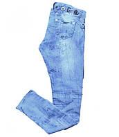 Джинсы женские летние Gloria голубые, фото 1