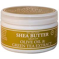 Бальзам для тела(оливковое масло и зеленый чай), Nubian Heritage, 114 г