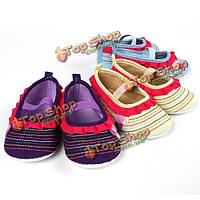 Милые мальчики девочки обувь детская кроватка мягкой подошвой кроссовок Мэри Джейн