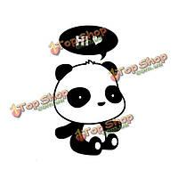 3шт сменные стенные этикетки панды домашняя виниловая цитата искусства обстановки настенного выключателя