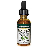 NutraMedix, Banderol, защита от микробов, 1 жидкая унция (30 мл)