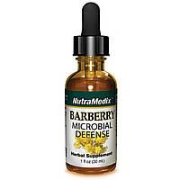 NutraMedix, Барбарис, микробная защита, 1 жидкая унция (30 мл)