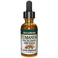 NutraMedix, Cumanda, Антибактериальное средство, 1 жидкая унция (30 мл)