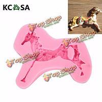 KCASA™ Карусель лошади помадная силиконовые формы инструмент формы шоколада для украшения торта