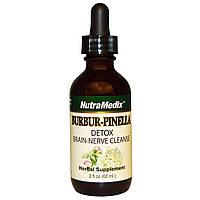 Витамины для мозга, Burbur-Pinella, NutraMedix, 60 мл