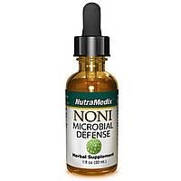 NutraMedix, Нони для антимикробной защиты, 1 жидкая унция (30 мл)