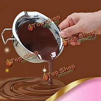 304 нержавеющая сталь шоколада вода-сопротивляя горшок масло нагревается чаша, фото 1
