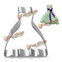 Платье принцессы резец печенья печенья желе фондант торт прессформы, фото 1