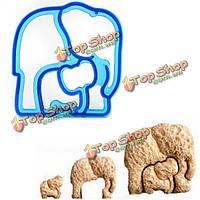 Слон форма хлеба по приготовлению бутербродов резец прессформы печенья тост создатель прессформы