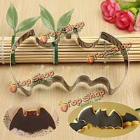Хэллоуин помадка печенье бисквитное резак прессформы прессформы торта летучая мышь, фото 1