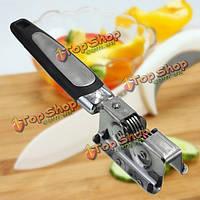 Нержавеющая сталь Ручка кухонный нож точилка сверхмощный заточка ножей лезвие, фото 1