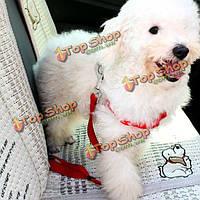 Регулируемая домашних собак автомобильный ремень безопасности тягового каната, фото 1