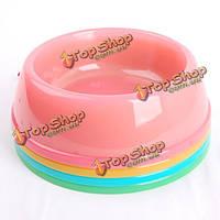 Красочные легкие практические Pet миска портативная путешествия чаша, фото 1