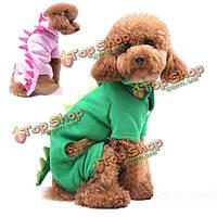 Динозавр Преображенская мягкий velure кота собаки комбинезон одежда для животных