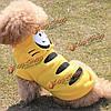 Зима кошка собака тигр костюмы хлопок щенок капюшоном животное одежды