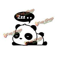 3шт сменные стенные этикетки панды домашние стенные переводные картинки переключают виниловую цитату искусства обстановки