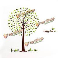 Счастливые лесные ПВХ стикер стены обои 2189, фото 1