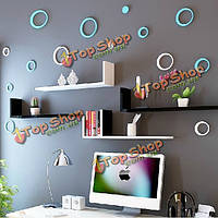 8 цветов 5шт кругах творческой съемных стерео 3D diy стены стикеры, фото 1
