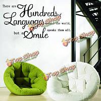 Английские пословицы стикер стены наклейка обоев декора дома, фото 1
