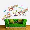 DIY бабочка цветок съемный стикер стены этикета домашний декор искусства