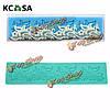 KCASA™ цветок кружева Cake украшения силиконовые формы помадной торт
