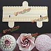Резец из бисера жемчуг фондант торт украшение плесень