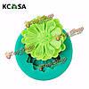 KCASA™ 3D мини-цветок силикона помадной Cake плесень украшения торта плесень