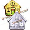 Алюминиевый дом прессформы торта выпечки маффин для выпечки формового хлеба плесень