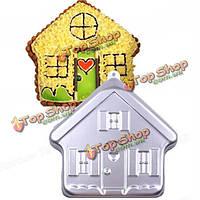 Алюминиевый дом прессформы торта выпечки маффин для выпечки формового хлеба плесень, фото 1