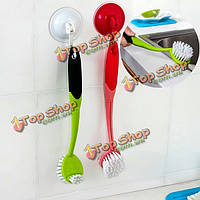Пластик мягкий для снятия скруббер уборка кухни щетка блюдо инструмент кисть домашняя кухня, фото 1