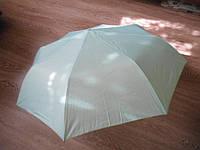 Зонт зонтик полуавтомат женский изнутри золотистый