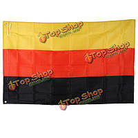 Открытый крытый Германия страна Знамени государственный флаг Вымпел 3x5ft