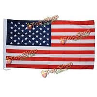 Соединенные Штаты флаг США 5 футов х 3 фута полиэстер