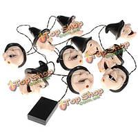 Красочные ведьма LED струнные светильники Хэллоуин светильник набор шарика украшения, фото 1