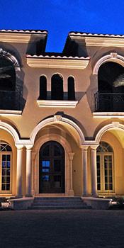 led подсветка зданий