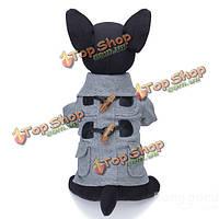Европейский стиль кнопка звукового сигнала отложной воротник Pet собаки пальто, фото 1