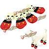 Панда выкройка собаки любимчика мягкий хлопок анти -- выскальзования переплетения вязать теплые носки