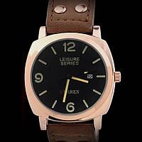 Кварцевые часы Curren (dark brown) - гарантия 6 месяцев