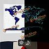 Командировочной жизни Звездная ночь карта мира выпуск скрэтч-карта мира